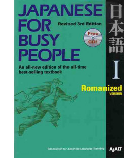 Japanese for Busy People 1. Romanized Version (Revised 3rd. Edition)- Incluye CD