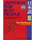 Japanese for Busy People 3. The Workbook (3. überarbeitete Auflage) – enthält eine CD
