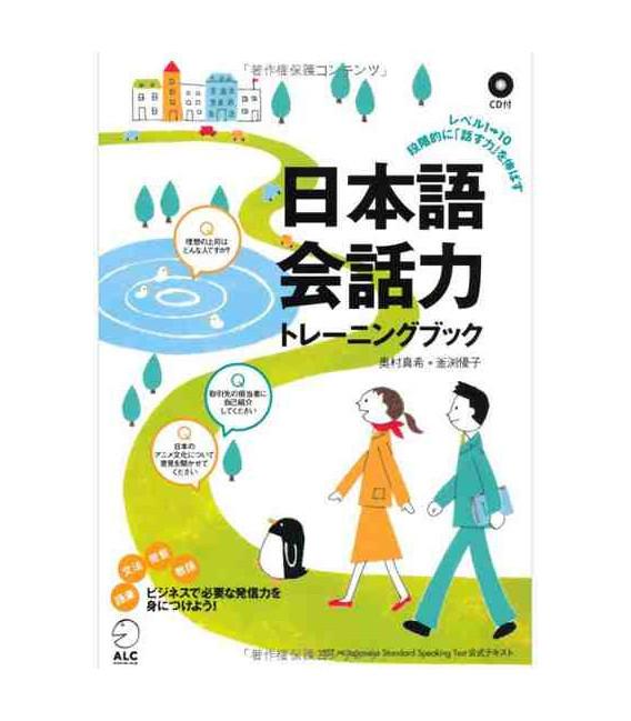 Nihongo Kaiwaryoku - Buch + CD (Gespräch auf Japanisch )