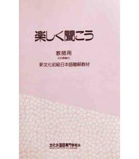 Tanoshiku Kikou (Hörverstehen der Bunka-Methode)- enthält 2 CDs - Buch für Lehrer