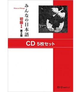 Minna No Nihongo Grundstufe 1 - Set mit 5 CDs (Shokyu 1) 2. Auflage