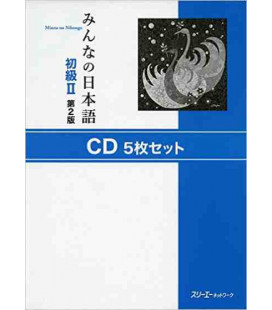 Minna No Nihongo 2- Set de 5 CD (Segunda edición)