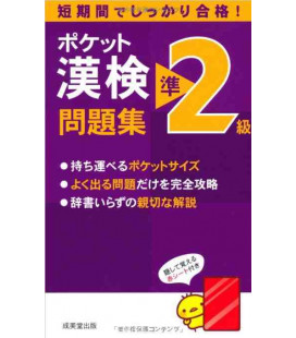 Pocket Kanken Jun2Kyuu Workbook