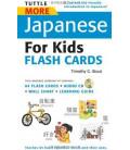 Tuttle More Japanese for Kids Flash Cards Kit (enthält eine CD)