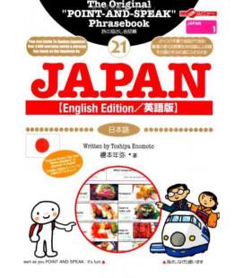 """Buch mit nützlichen Sätzen für """"Sprechen mit Gesten"""" - Version auf Englisch - (Japanische Sammlung 21)"""