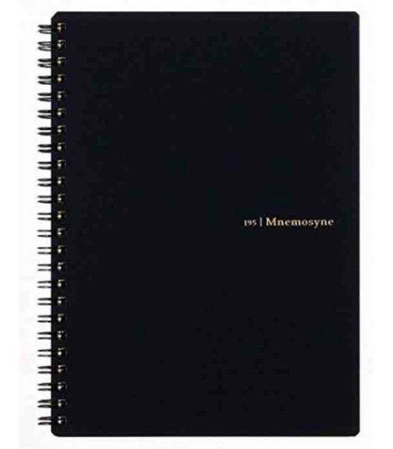 Maruman Mnemosyne Notebook N195A (Tamaño A5) - A rayas 7 mm