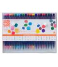 Akashiya Sai Aquarell-Pinselstift-Set mit 20 Farben