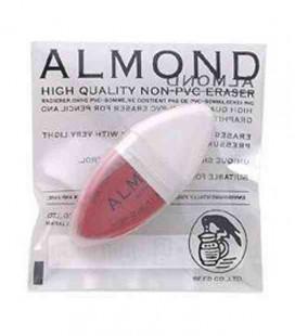 Seed Eraser Almond - Radiergummi zum Entfernen von Bleistift (aus Japan importiert)