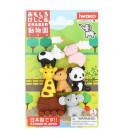 Iwako Puzzle Eraser - Zoo - (Radiergummis mit verschiedenen Designs) In Japan hergestellt