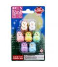 Iwako Puzzle Eraser - Lucky Owl - (Radiergummis mit verschiedenen Designs) Hergestellt in Japan