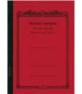 Apica CD15-BK Notebook (Tamaño B5, Color rojo)