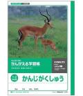 Kyokuto-Heft für Kanji-Schreibübungen – Vollständiges Arbeitsblatt mit einem Kanji pro Seite