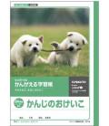 - Kyokuto-Heft für Kanji-Schreibübungen - 84 Kanji-Zeichen pro Seite