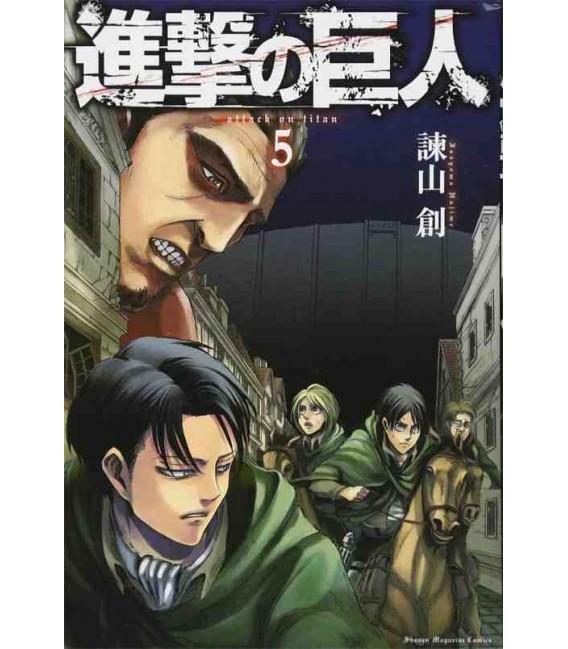 Shingeki no Kyojin (El ataque de los titanes) Vol. 5