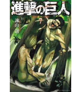 Shingeki no Kyojin (Der Angriff der Titanen) Band 7