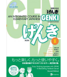 Genki: An Integrated Course in Elementary Japanese 2 textbook [2. Auflage- Enthält eine MP3 CD-ROM]
