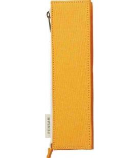 Japanisches magnetisches Stifte Etui- Modell Pensam 2002 (Yellow) - gelbe Farbe