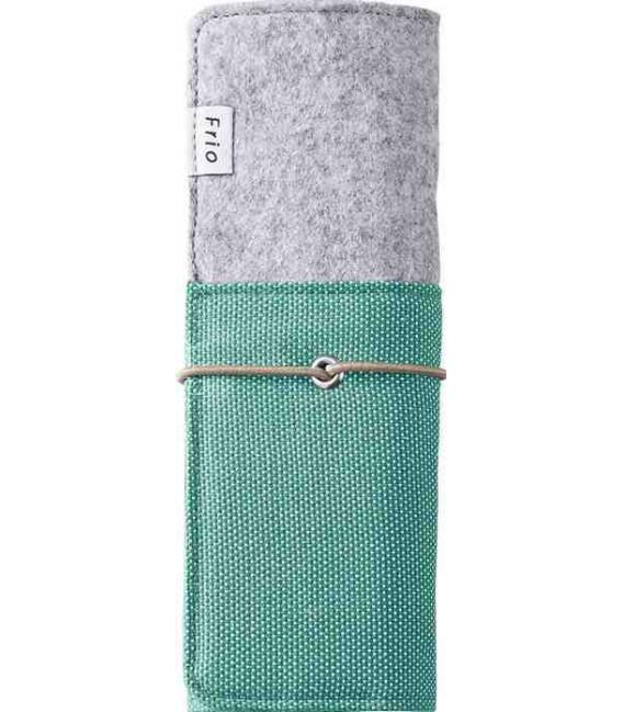 Estuche plegable japonés - Modelo Frio 8401 (Green) - Color gris y verde