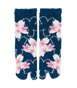 Flip Flop Socken für Damen – Kurochiku (Kyoto) – SakuraDukushi Modell- (Einheitsgröße 23-25cm)
