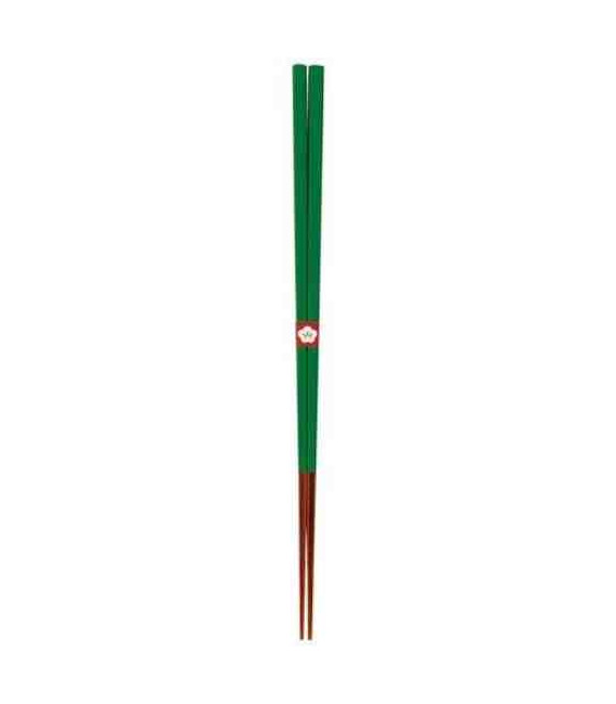 Palillos tradicionales japoneses Kawai - Color Tokiwamidori (Verde)