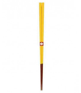 Traditionelle japanische Stäbchen Kawai - Yamabukiiro farbe (gelb)
