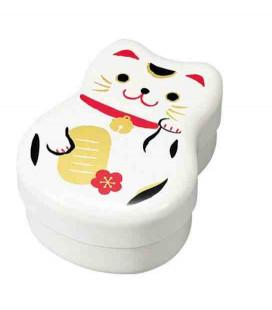 Hakoya Maruko Bento - Modell 50820 - Weiße Katze