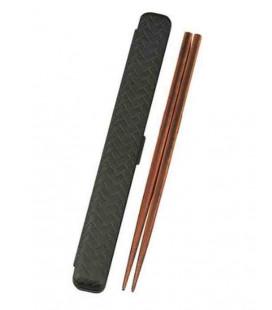 Japanische Stäbchen - Modell 33052 - Set Kuro (schwarz)