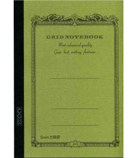 Apica CG53-MG Notebook (Grösse A5 - Khaki grüni - Kariert - 52 Seiten)