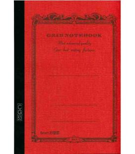 Apica CG53-VE Notebook (Grösse A5 - Orange Farbe - Kariert - 52 Seiten)