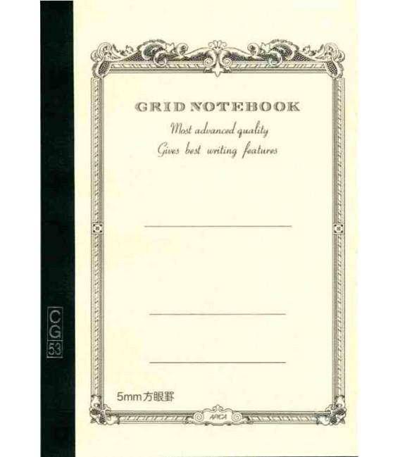 Apica CG53-WH Notebook (Grösse A5 - Weiße Farbe - Kariert - 52 Seiten)