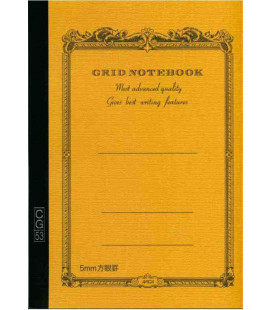 Apica CG53-BY Notebook (Grösse A5 - Gelbe Farbe - Kariert - 52 Seiten)