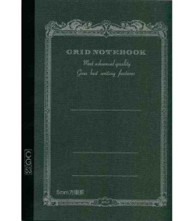 Apica CG53-BK Notebook (Grösse A5 - Schwarze Farbe - Kariert - 52 Seiten)