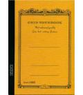 Apica CG54 - Notebook (Grösse B6 - Gelbe Farbe - Kariert - 104 seiten)