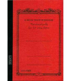 Apica CG54 - Notebook (Grösse B6 - Orange Farbe - Kariert - 104 Seiten)