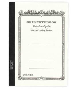 Apica CG54 - Notebook (Grösse B6 - Weiße Farbe - Kariert - 104 Seiten)