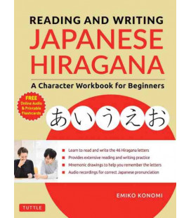 Reading and Writing Japanese Hiragana - A Character Workbook for Beginners (inkl. Audio-Dateien zum Download)