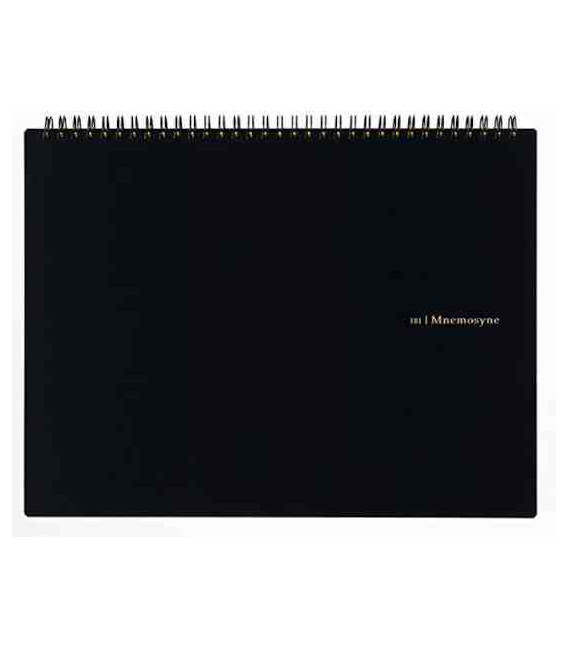 Maruman Mnemosyne Notebook N181A (Tamaño A4) Pauta lisa