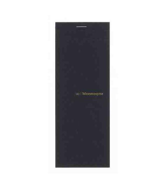 Maruman Mnemosyne Notebook - N162 (Größe 200x75mm - 5mm Kariert - 50 Blätter)