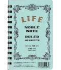 Life Noble Note - N72 (Tamaño 127x80mm - Color Azul claro - A rayas - 40 paginas)