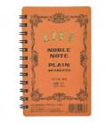 Life Noble Note - N71 (Tamaño 127x80mm - Color Marron - Liso - 40 paginas)