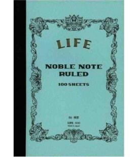 Life Noble Memo - N30 (Größe B6 - Hellblau - liniert - 100 Blätter)