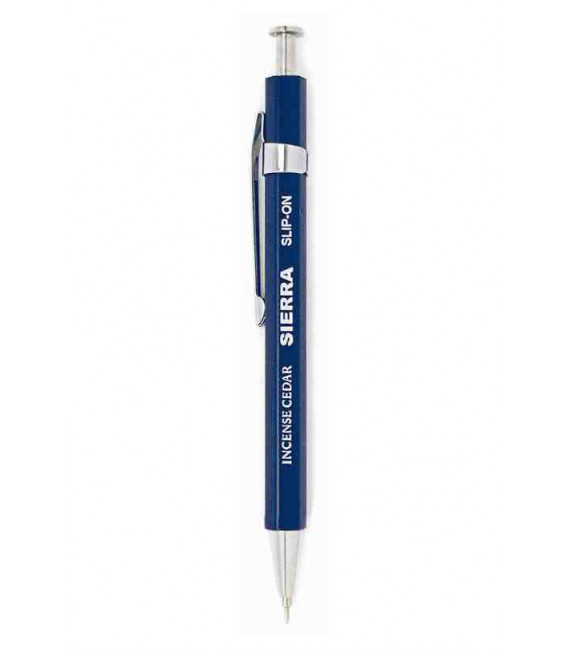Bolígrafo Japonés Sierra (Carcasa madera de cedro) - Tinta Negra - Tamaño S - Color azul oscuro