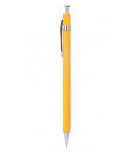Sierra japanischer Kugelschreiber (Zedernholz Gehäuse) - Schwarze Tinte - Größe L - gelbe Farbe