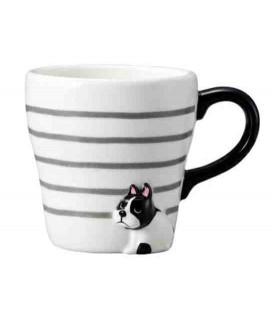 Decole - Furimuki mug dog