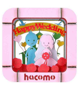 Hacomo - Karte - Happy Wedding
