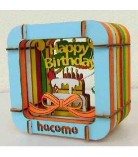 Hacomo - Karte - Happy Birthday