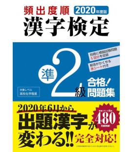 2020 Kanken Kako Mondaishu Jun 2 Kyu - Übungen für Kanken Level Pre 2 - 2020 Auflage