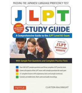 JLPT Study Guide - A Comprehensive Guide to the JLPT Level N5 Exam (inkl. Audio-Dateien zum Download)