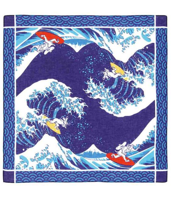 Bandana japonesa Kurochiku - Modelo Namifuji