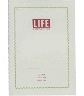 Life Pistachio Notizbuch - N80 (Größe A6 - Hellgrüne Farbe - Liniert - 64 Blätter)